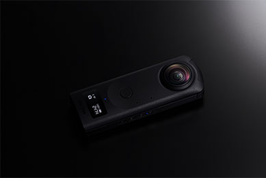 reduces ghosting, flare and fringing - RICOH THETA Z1